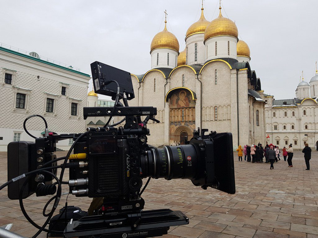 FilmspbTV filma el Kremlin de Moscu