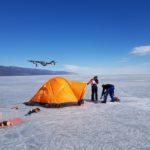 FilmspbTV acampando en el hielo del lago Baikal