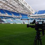 FilmspbTV filmando Futbol