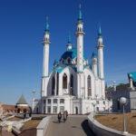 FilmspbTV filmando en Kazan, Kul-Sharif
