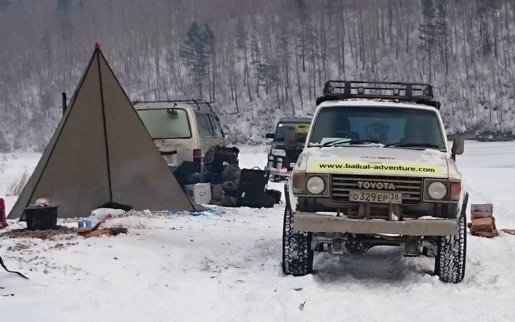 FilmspbTV transporte para filmar en Siberia