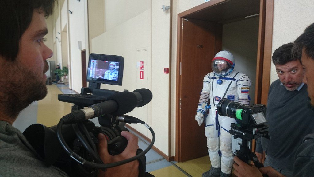 FilmspbTV entrevista con un astronauta