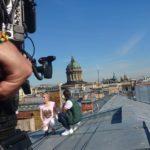FilmspbTV Filmando en San Petersburgo