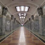 FilmspbTV filmando el Metro en Moscu, Russia