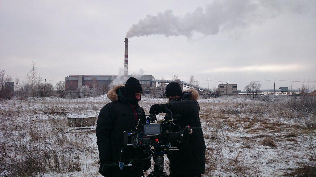 FilmspbTV rodaje en Siberia
