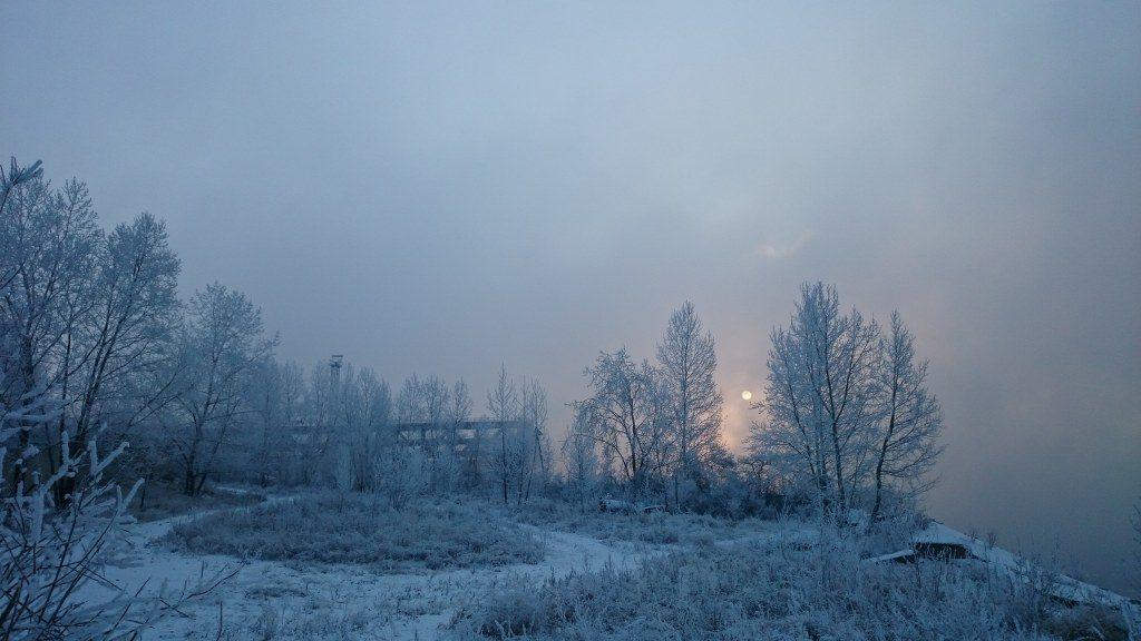 FilmspbTV organizando una filmacion en Siberia