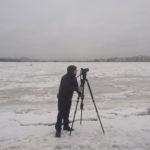 FilmspbTV filmando en Rusia en el frio