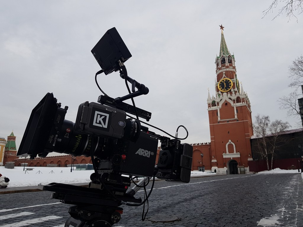 Produccion audiovisual en Moscu