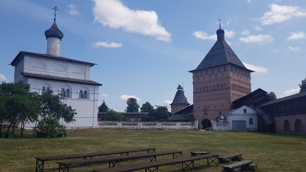 Filmar en Vladimir y Suzdal
