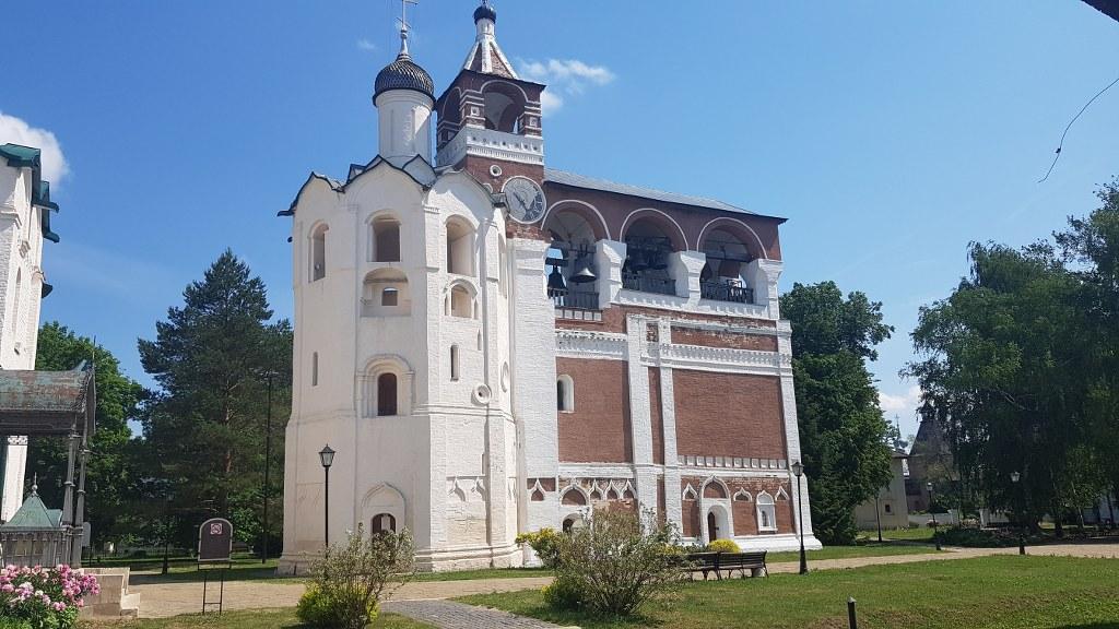 Rodaje en Vladimir y Suzdal