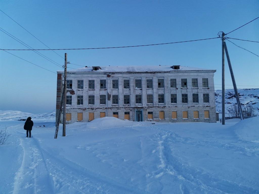 Rodaje en Murmansk