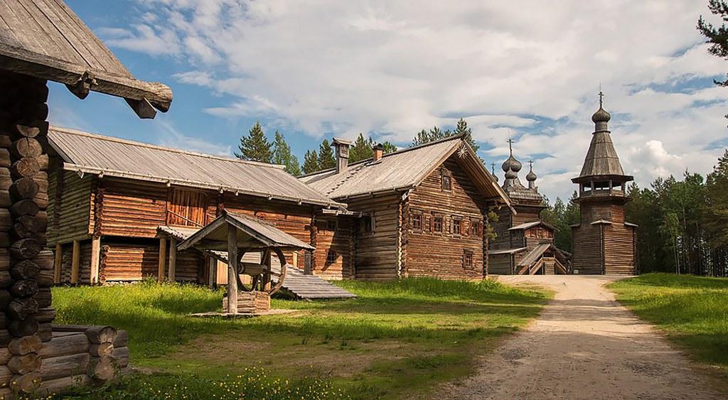 Filmacion en Arkhangelsk