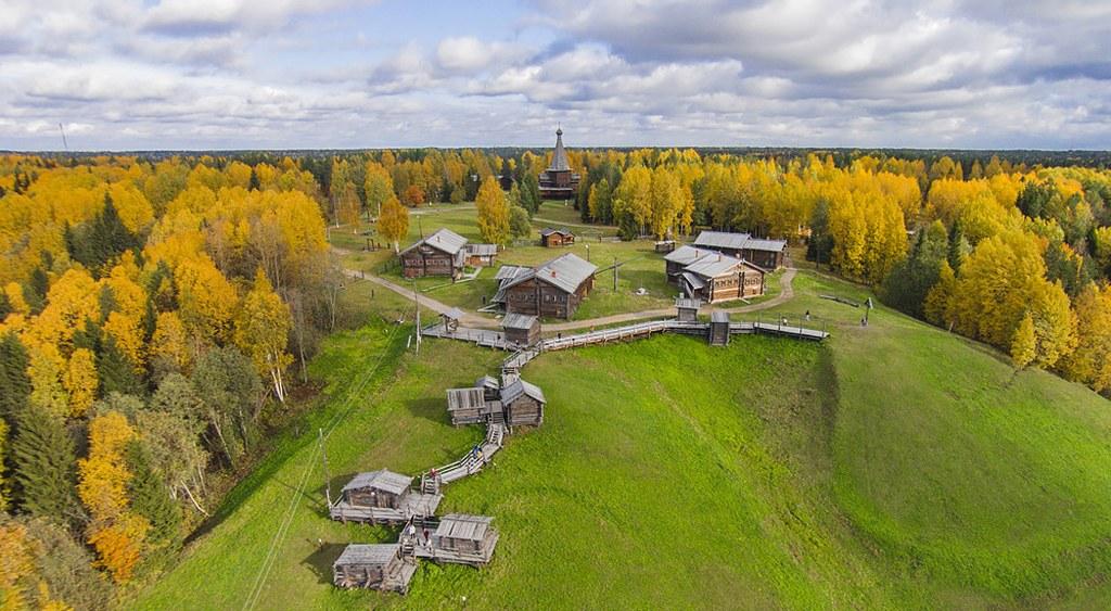 Rodaje en Arkhangelsk