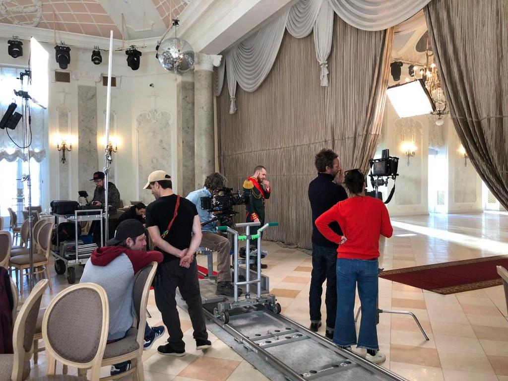 Filmacion en Rusia, equipo tecnico