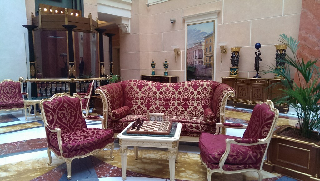 Locacion para entrevista en San Petersburgo