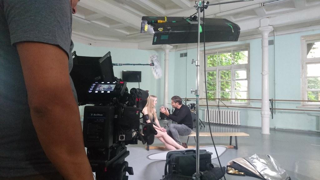 Rodaje de entrevistas en San Petersburgo