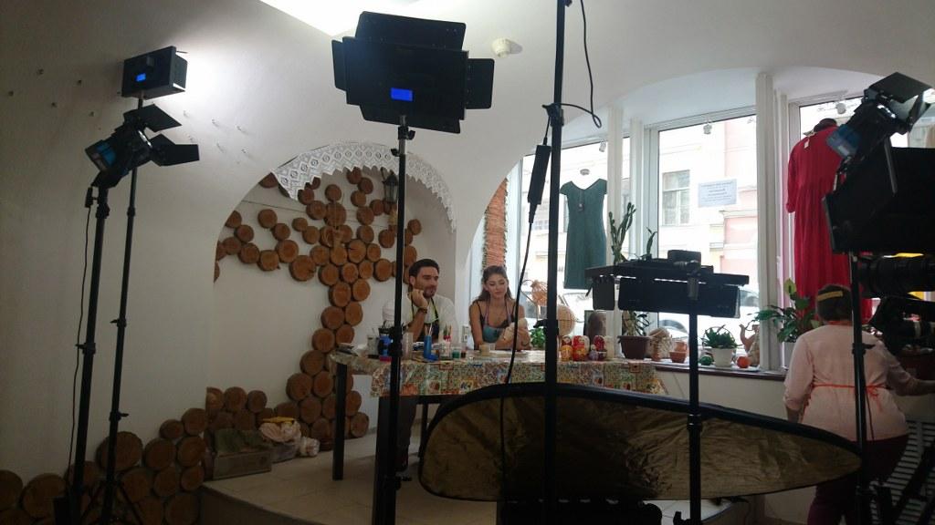 Organizacion de produccion de entrevistas en San Petersburgo, Rusia
