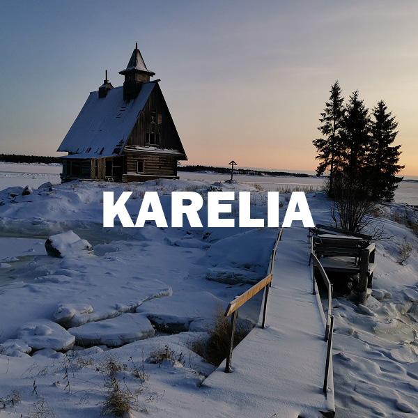 Filmacion en Karelia