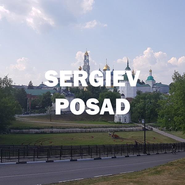 Rodaje en Sergiev Posad
