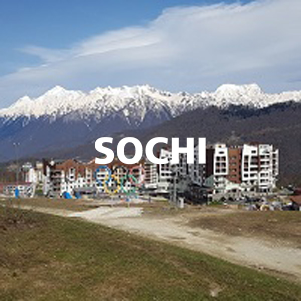 Rodaje en Sochi