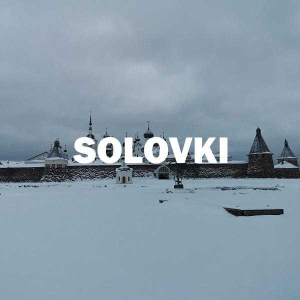 Filmar en las islas Solvetskie - Solovki