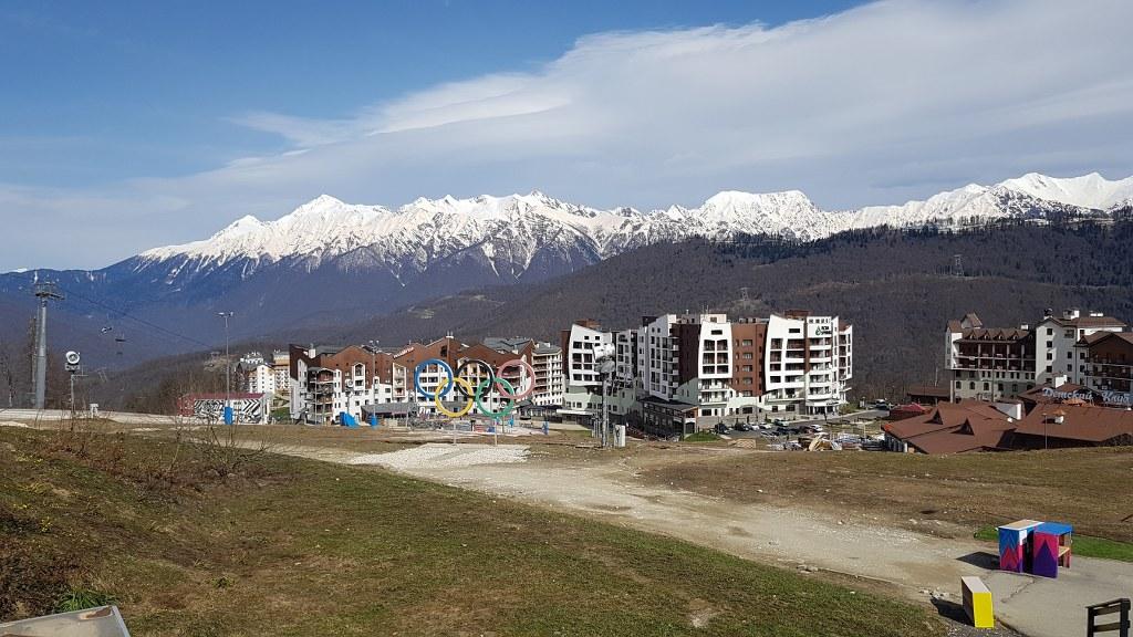 Filmar parque olimpico en Sochi
