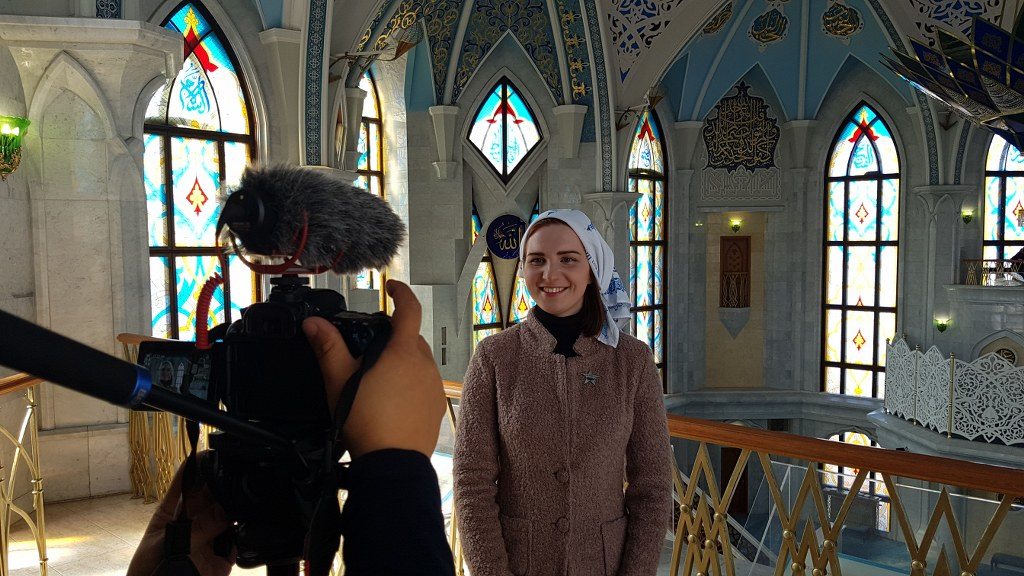 Permisos para filmar Kul Sharif en Kazan