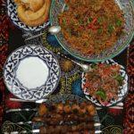 Comida nacional en Kazan Russia