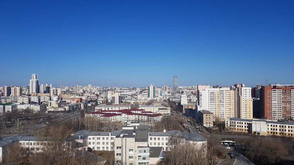 Rodaje en Ekaterinburgo