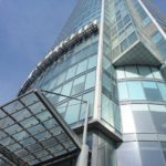 Edificios modernos en Ekaterinburgo