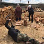 La vida de la aldea Rusa