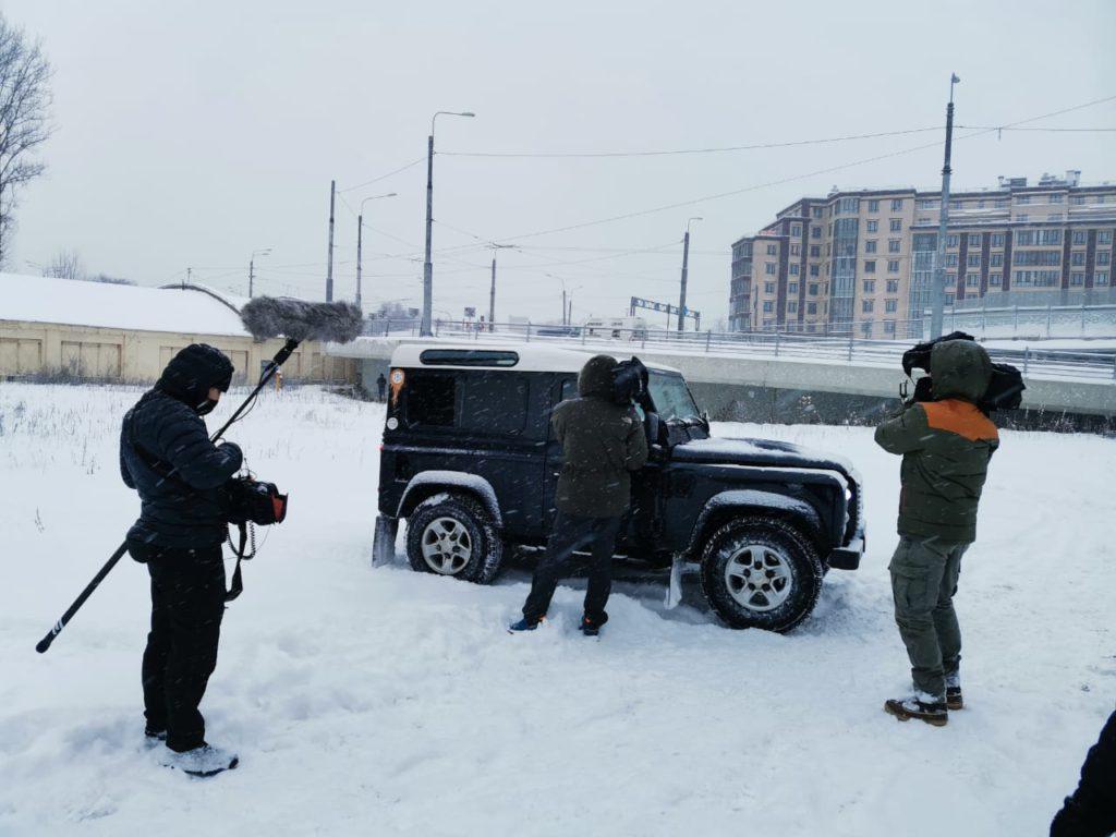 Produccion audiovisual en San Petersburgo, Rusia