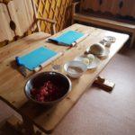 Preparacion de comida nacional en Buryatia