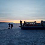 Rodaje en el hielo del Baikal