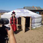 Vivienda nacional del los Buryatas rusos