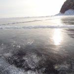 El hielo del lago Baikal