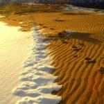Lugares increibles para filmar en Rusia - un desierto en Siberia