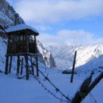 Restos de campamentos de concentracion GULAG en Siberia